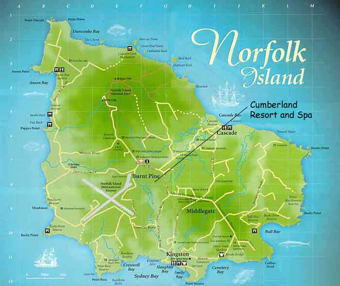 Color Norfolk Map Cumberland